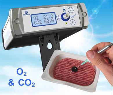 LEGEND analyseur O2&CO2 portable