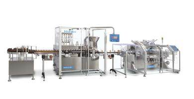 Liquid filling solutions made by Romaco