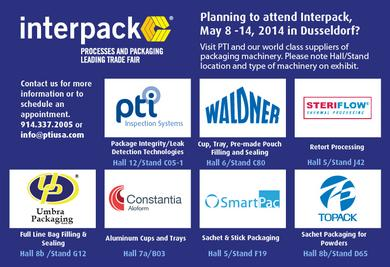 PTI Interpack Booth Information