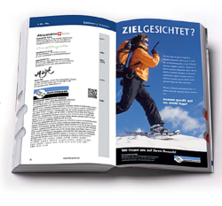Graphic: Advertisements in the catalogue